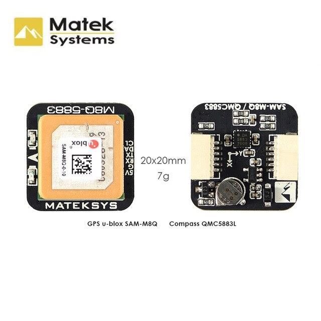 Original Matek Systems M8Q-5883 Ublox SAM-M8Q GPS & QMC5883L With Compass Module For FPV Racing Drone Long Range