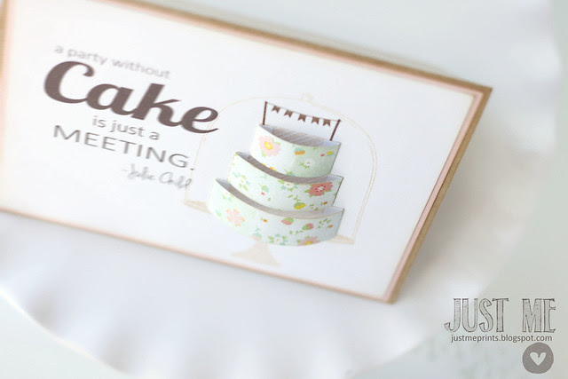 3-d cake and cake slice box set