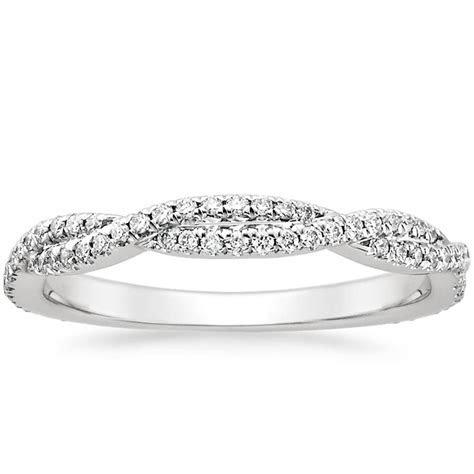 Petite Luxe Twisted Vine Diamond Ring   Brilliant Earth