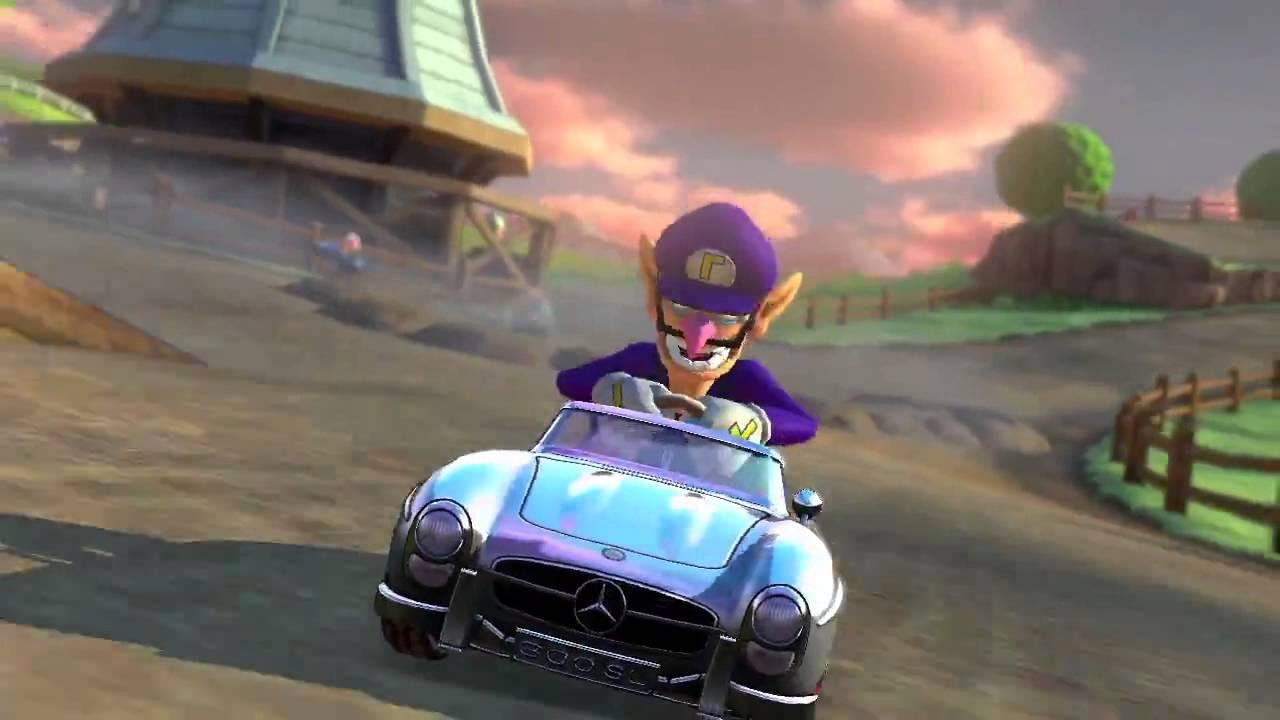 Mario Kart 8 incluirá autos Mercedes-Benz - YouTube
