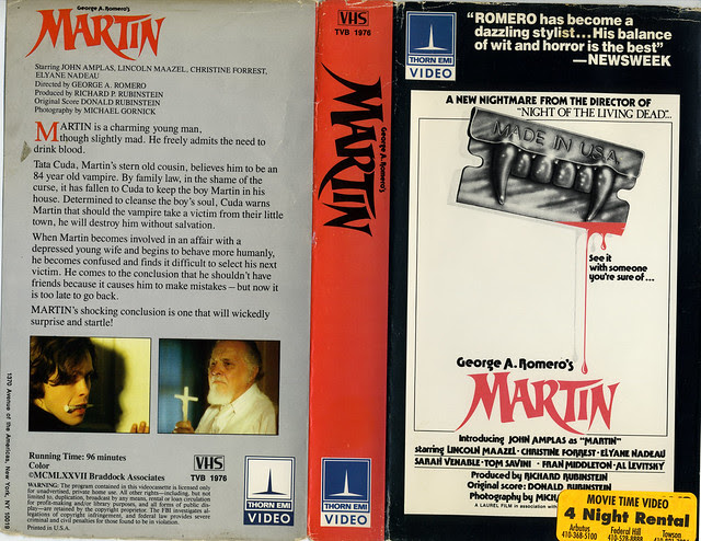 Martin (VHS Box Art)