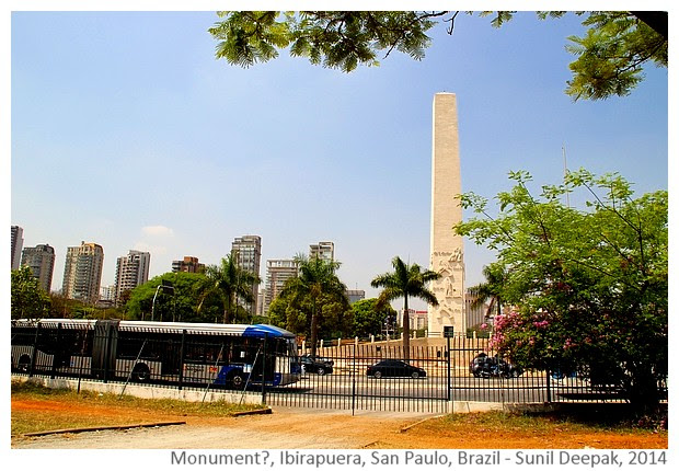 Other monument Ibirapuera, San Paulo, Brazil - Images by Sunil Deepak, 2014