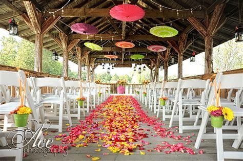 Enchanted Florist   Wedding Ceremony   Unique Aisle Designs