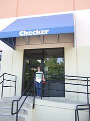 Cori at Checker