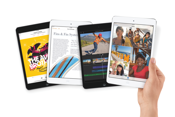 Specs confronto: iPad mini-vs Nexus 7 vs Kindle Fogo HDX