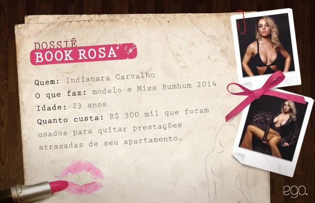 Dossiê Book Rosa - Indianara Carvalho (Foto: Ego)