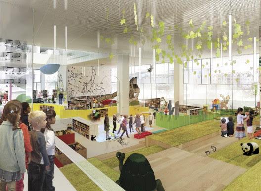 Schmidt hammer lassen architects to design largest public library ...