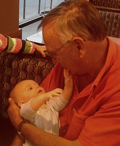 Buzz loves Grandpa