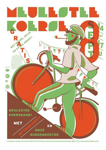 Affiche Meulestee Koerse 2012