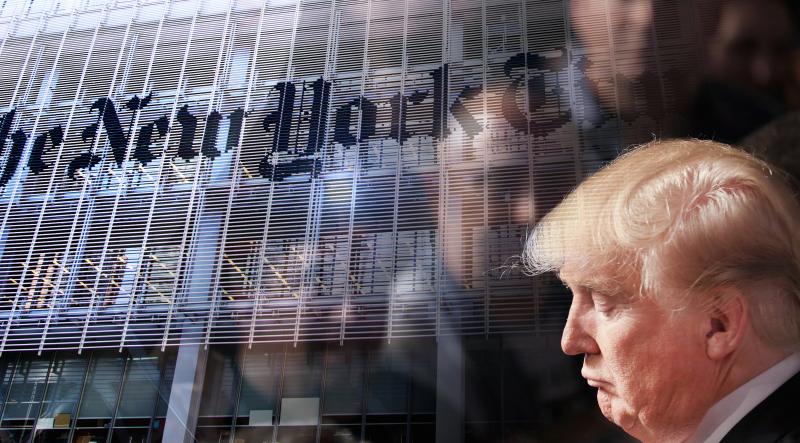 Výsledok vyhľadávania obrázkov pre dopyt trump+new york times