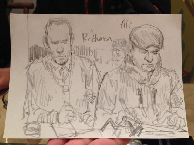 Portrait of Richard and Ali