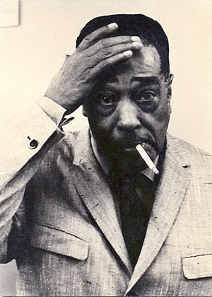 Duke Ellington during concert break at Jahrhun...