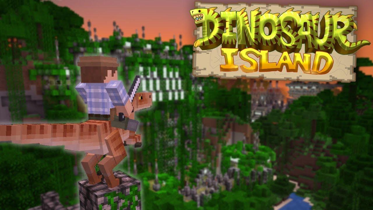 The Plot Thickens Dinosaur Island Pt 3 Minecraft Pe