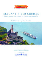 Elegant River Cruises - Brochure Cover 2012