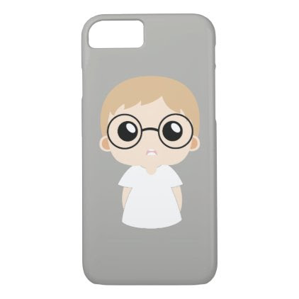 Nerd boy iPhone 7 case