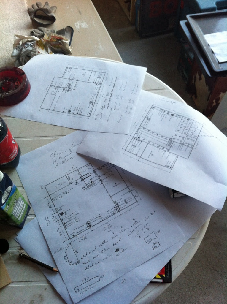 Planung, Planung und noch mal Planung.
