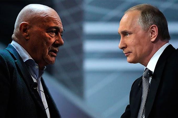 Познер и Путин