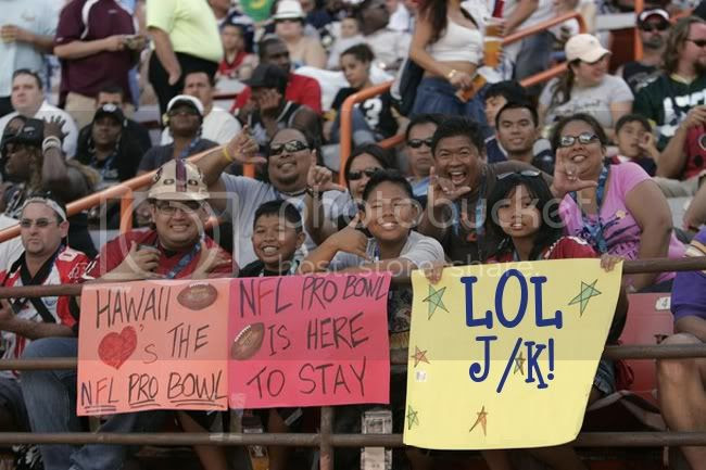 Pro Bowl Fans (LOL)