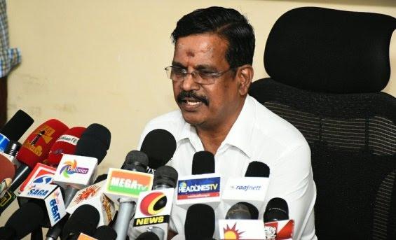 Kalaipuli S Thanu breaks silence on 'Theri' issue