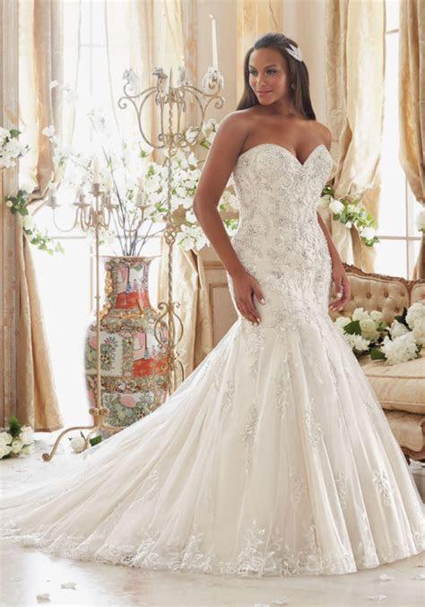 Amazing collection of Plus size wedding dresses 2017