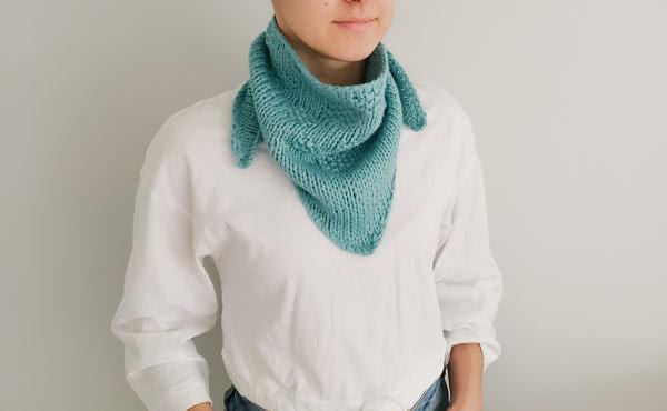 Seymour Triangle Scarf (Knit)