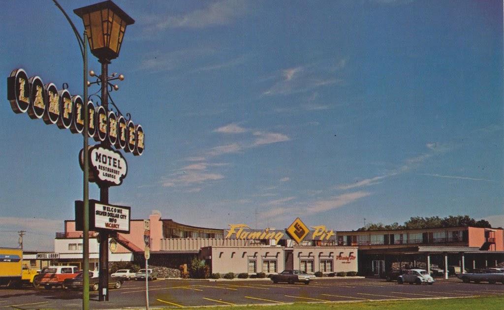 the cardboard america motel archive lamplighter motor. Black Bedroom Furniture Sets. Home Design Ideas