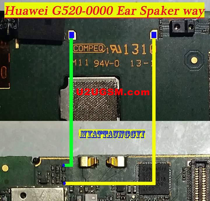 Huawei G520 Earpiece Solution Ear Speaker Problem Jumper Ways