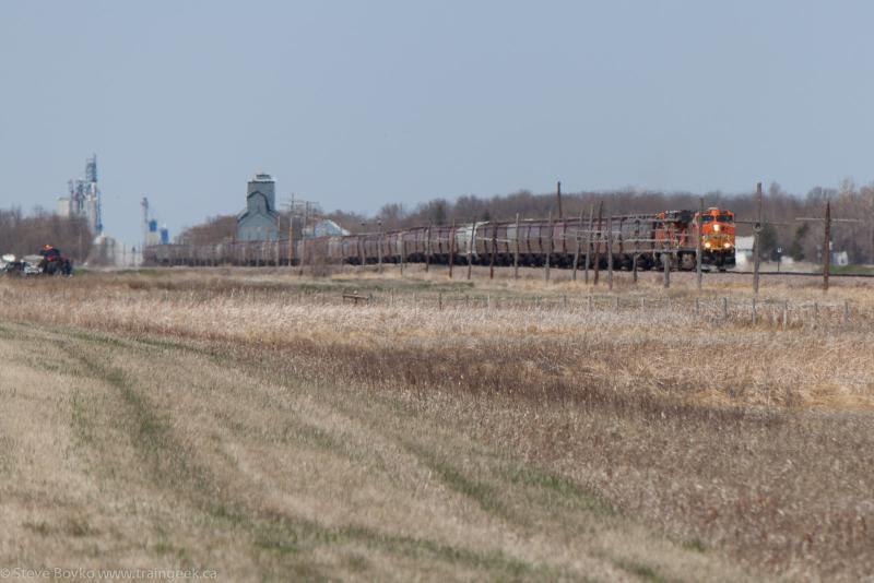 BNSF 5271 near Fargo