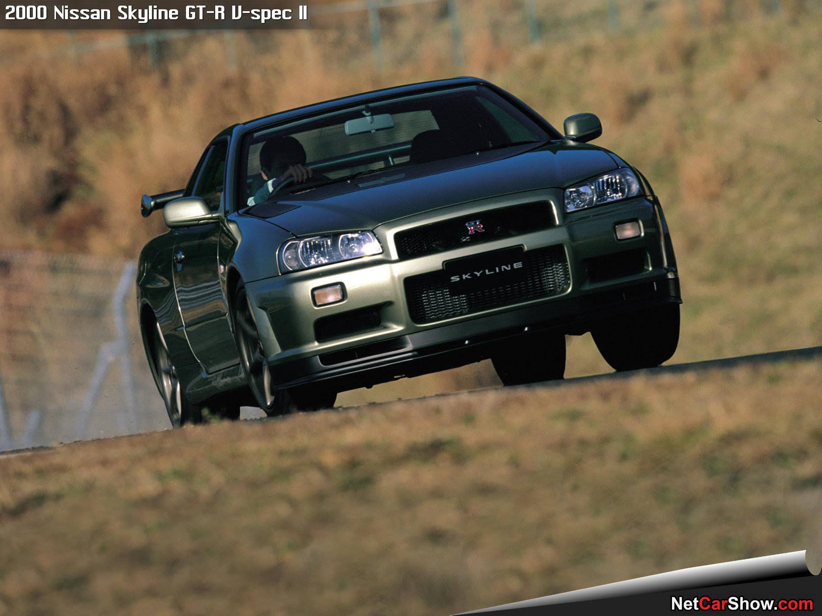 Nissan Skyline GT-R V-spec II (2000)