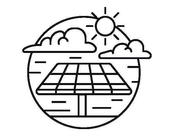 Güneş Enerjisinin Faydalari Boyama Sayfasi 4 Okul öncesi