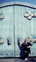 Disneyland Day 2: Comically Large Door