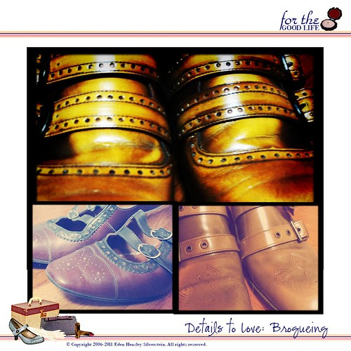 Details to Love: Brogueing
