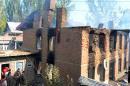 Blast kills five civilians at scene of shootout in Kashmir