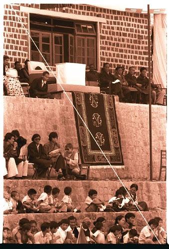Dalai Lama's seat