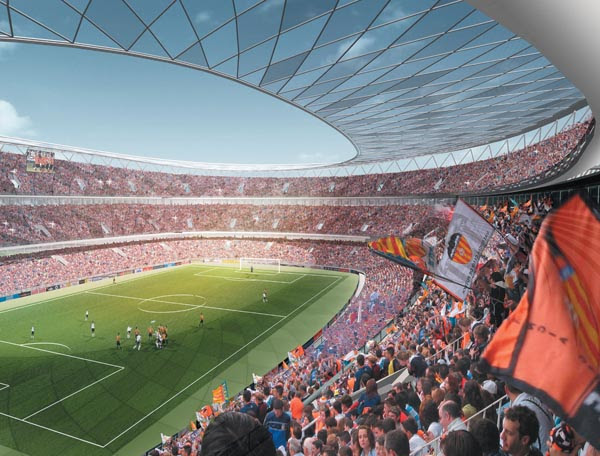 Proyectos del estadio del Valencia llanera 3