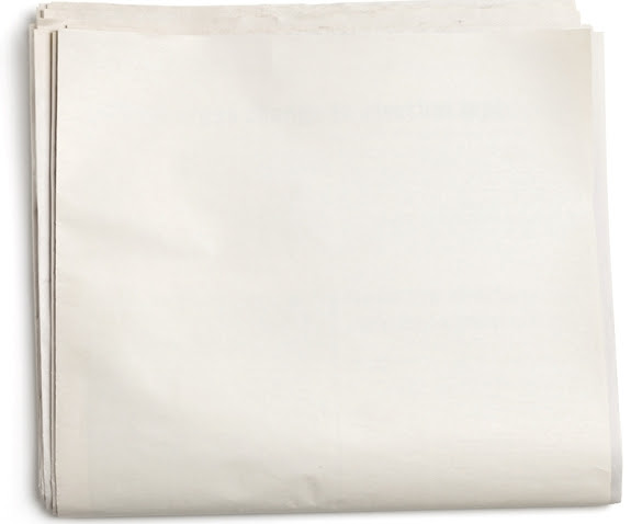 Blank newspaper background – cbyg