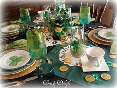St. Patrick's Tablescape