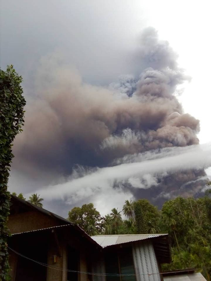 manam volcano eruption january 2019, manam volcano eruption january 2019 pictures, manam volcano eruption january 2019 video