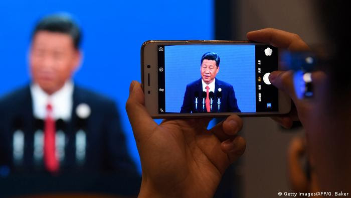China Belt and Road Forum in Peking (Getty Images/AFP/G. Baker)