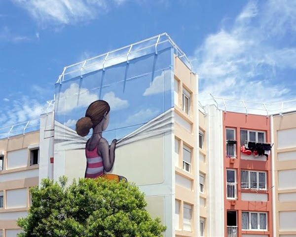 Amazing Huge Street Art on Building Walls (34)