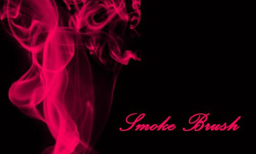33 sets of free unique smoke photoshop brushes