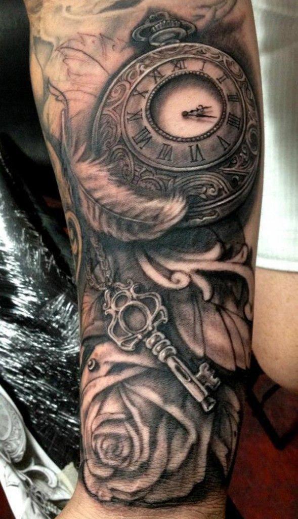 Watch And Black Rose Tattoo Tattoomagz