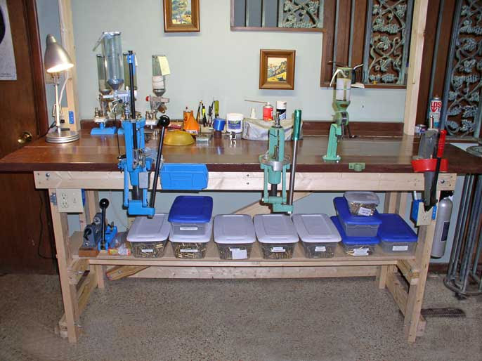 Show us a picture of your reloading bench - THR