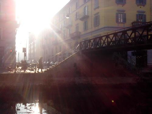 Dicembre dal sole di Naviglio Grande by Ylbert Durishti