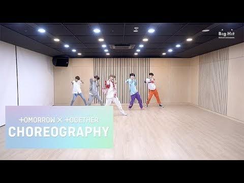 """TXT Releases Energetic Dance Practice Video For """"Blue Orangeade"""""""