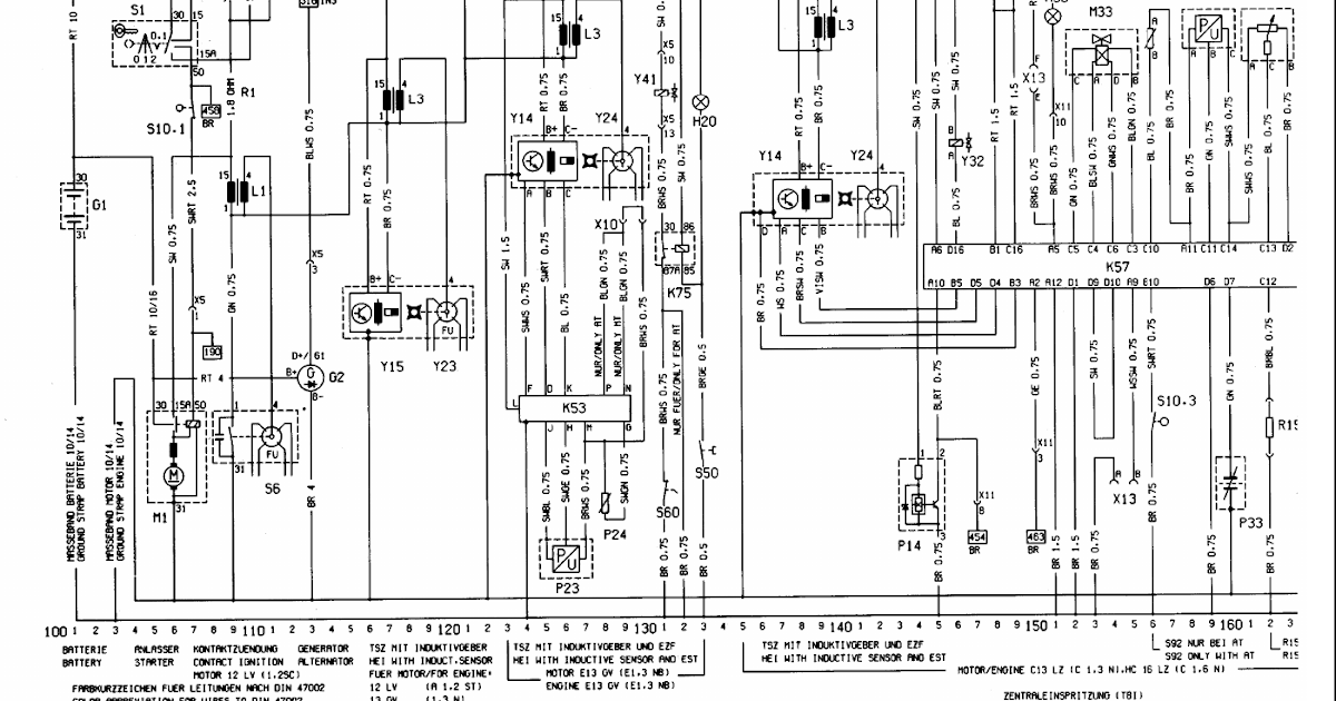 37  Wiring Diagram For Vauxhall Vectra Towbar