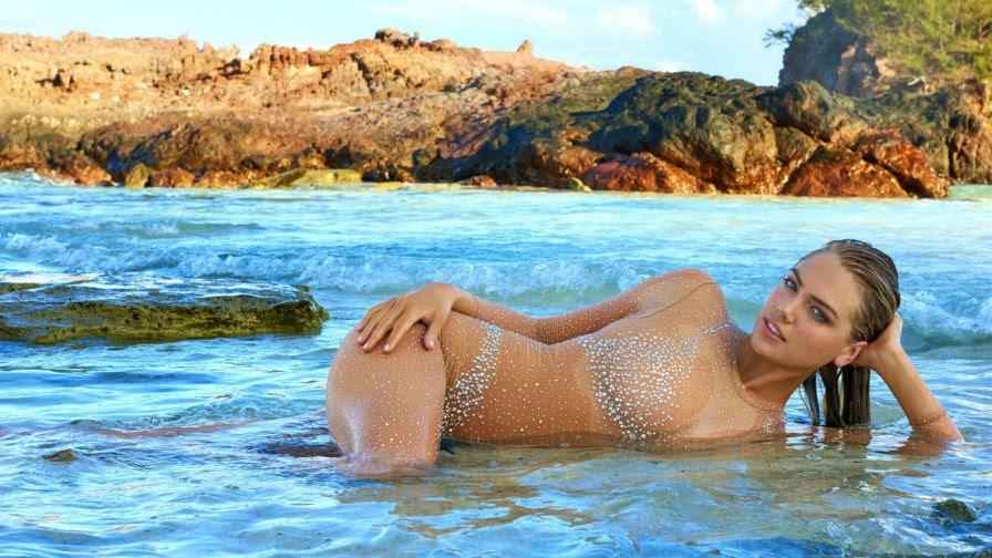 Kate Upton Swimsuit Hd Wallpaper Wallpapers Net