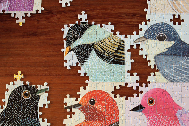 """My """"Together"""" print is now a puzzle"""