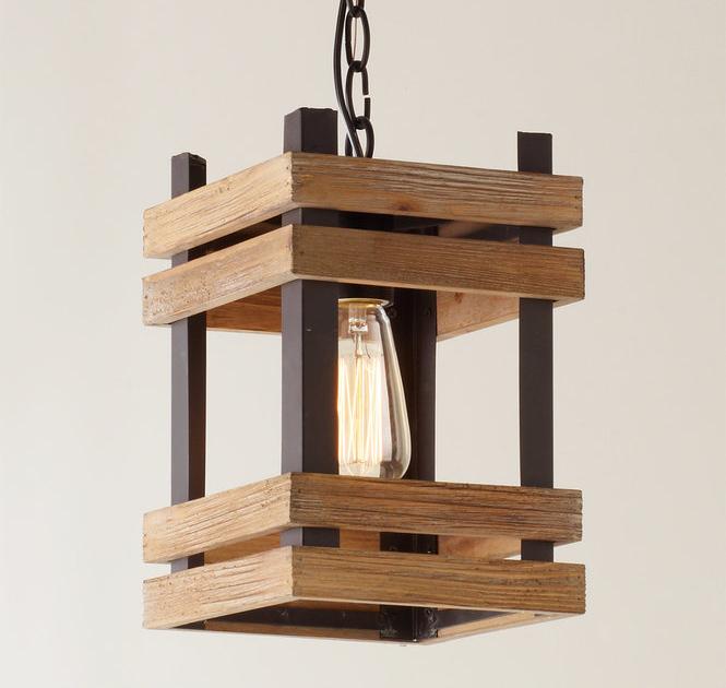 Desain Lampu Gantung Dari Kayu - LAMPURABI
