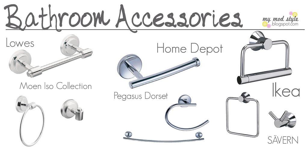 Picking Bathroom Accessories